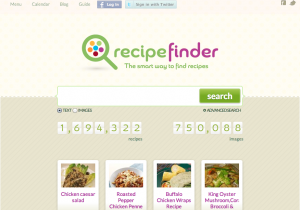 Permalink to Recipe Finder: The Largest Recipe Search Engine post image