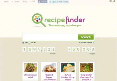 Recipe Finder: The Largest Recipe Search Engine