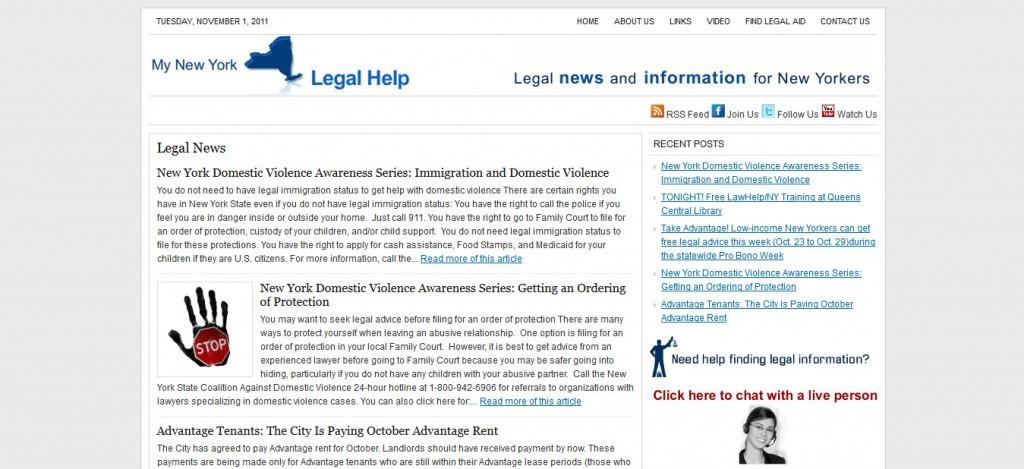 My New York Legal Help