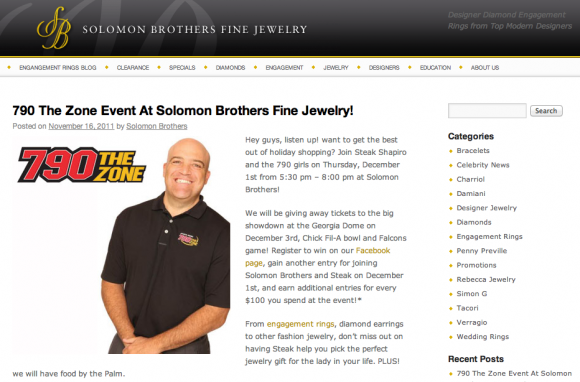 Engagement Rings Blog at Solomon Brothers