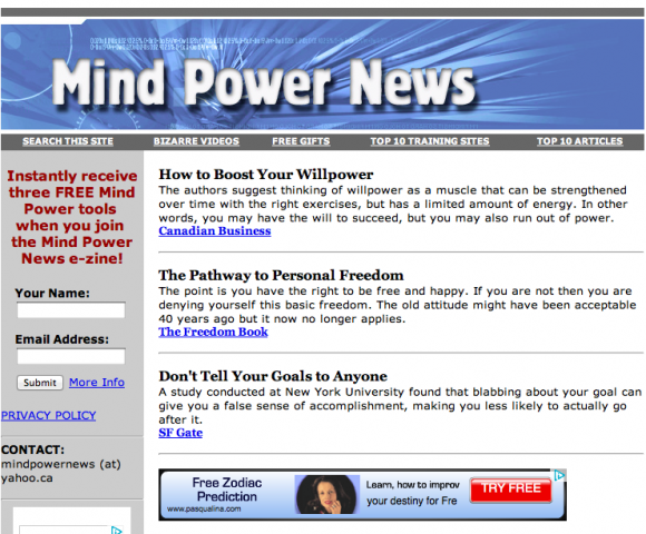 Mind Power News