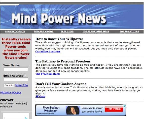 Mind Power News