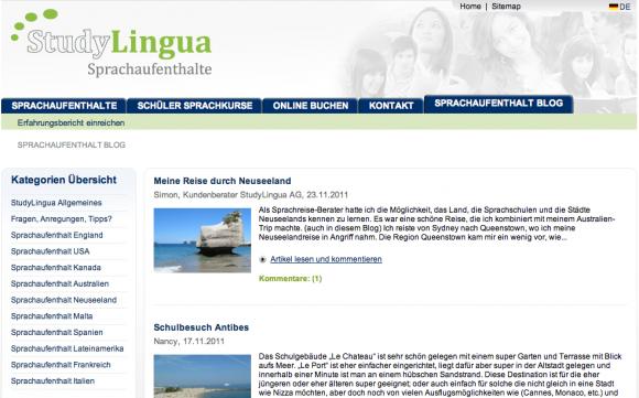 Sprachreise Blog - Berichte zu Sprachreisen weltweit