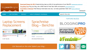 Permalink to Why Blog Search Engine Is Great for Bloggers post image