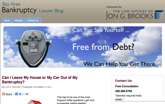Bay Area Bankruptcy Lawyer Blog