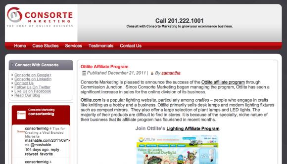 Consorte Internet Marketing Blog