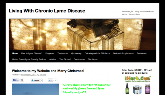 Living with Chronic Lyme Disease