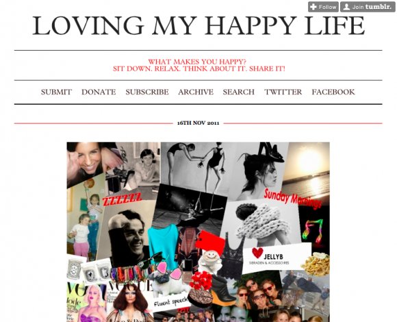 Loving My Happy Life