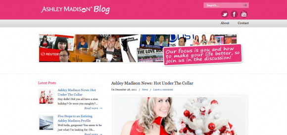 The Ashley Madison Blog