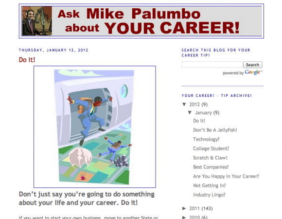 Ask Mike Palumbo about Your Career!