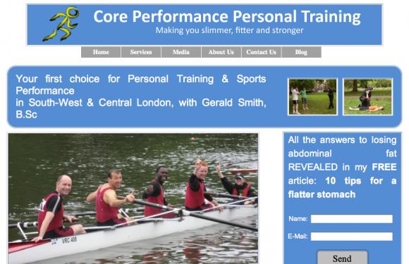 Core Performance Personal Training Blog