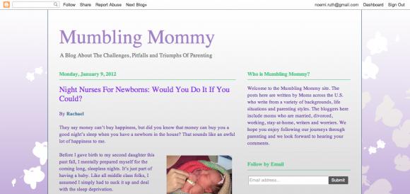 Mumbling Mommy