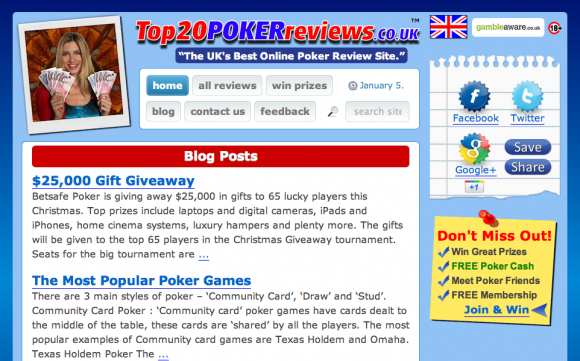 UK Poker Reviews