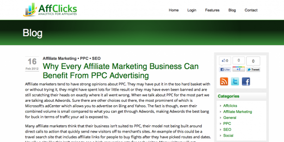 AffClicks Affiliate Marketing Blog
