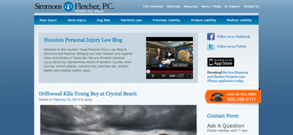Houston Texas Personal Injury Law Blog