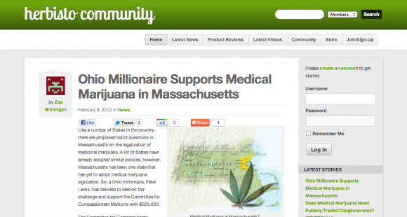 Marijuana News and Blog