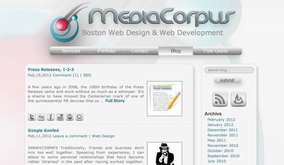 MediaCorpus Blog – SEO & Web Design