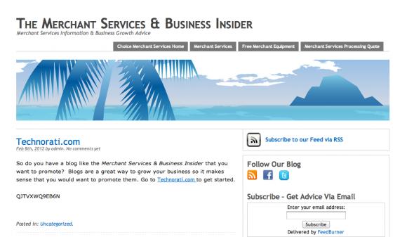 Merchant Services & Business Insider