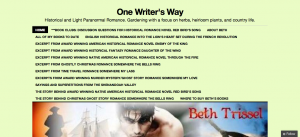 Permalink to One Writer's Way post image