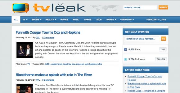 TV Leak