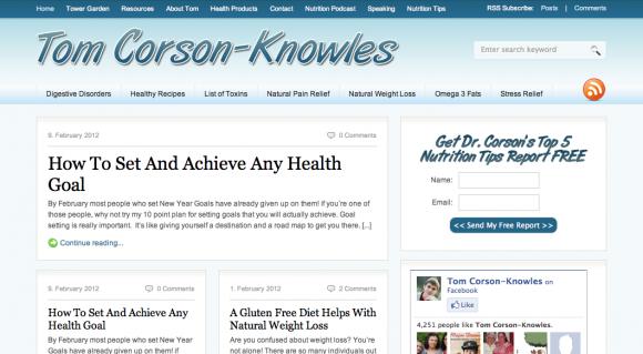 Tom Corson-Knowles Blog