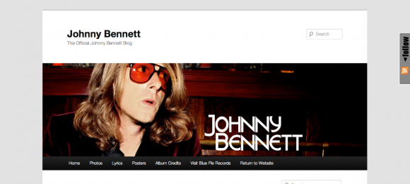 Johnny Bennett's Official Blog
