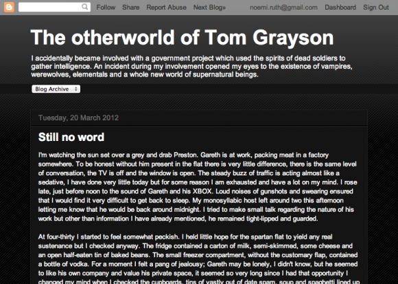 The otherworld of Tom Grayson