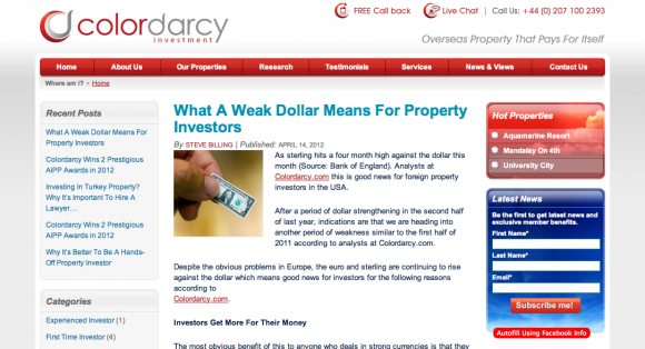 Colordarcy's Overseas Property Blog