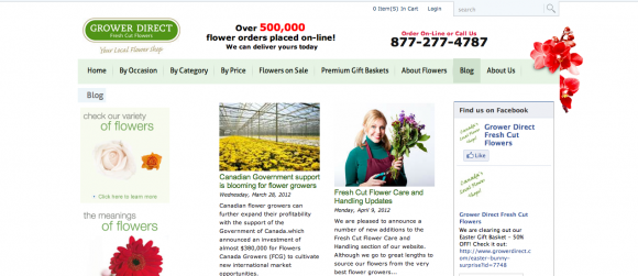 Grower Direct Fresh Cut Flower Blog