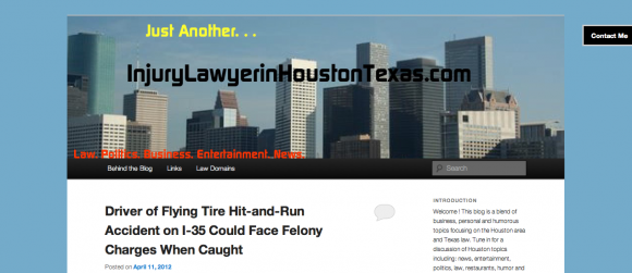 Just Another Injury Lawyer in Houston Texas