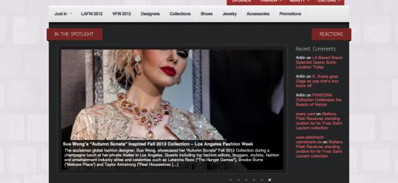The Los Angeles Fashion Magazine