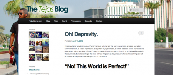 The Tejas Blog