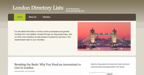 London Directory - Free Business Listings