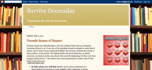 Prepping to Survive Doomsday