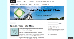 Permalink to I Want to Speak Thai post image