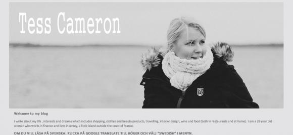 Tess Cameron's Blog