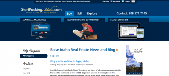 Boise Idaho Real Estate News and Blog