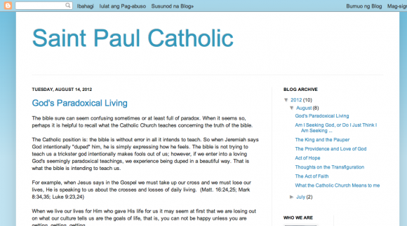 Saint Paul Catholic