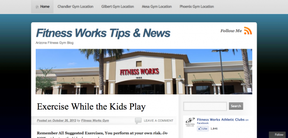 Fitness Works Tips & News