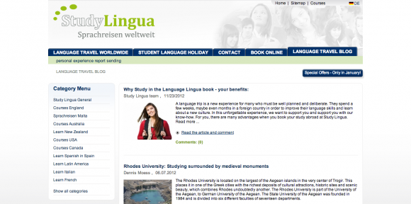 Sprachreisen Blog von StudyLingua Deutschland