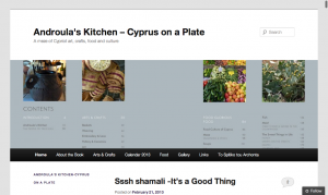 Permalink to Androula's Kitchen- Cyprus on a Plate post image