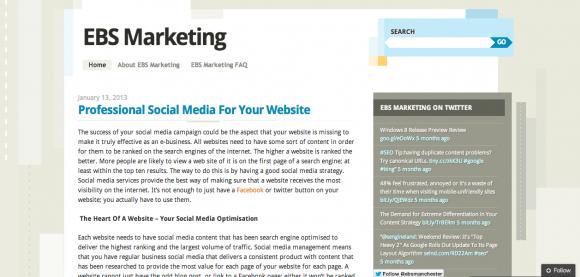 EBS Marketing Blog