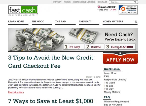 FastCash.org Blog