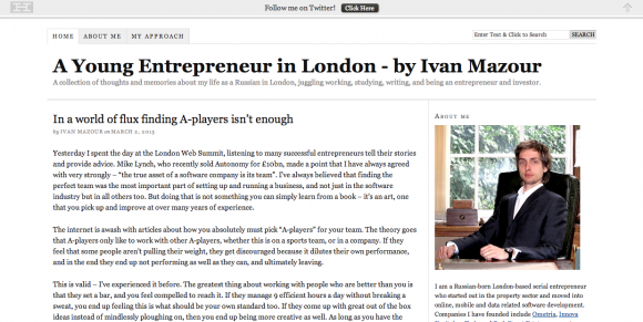 Ivan Mazour – Russian Entrepreneur