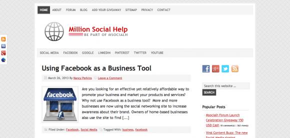 Million Social Help