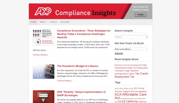 ADP Compliance Insights