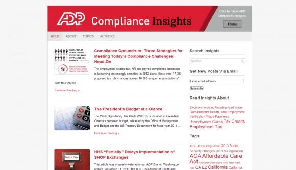 ADP Compliance Insights