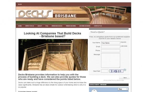 Decks Brisbane
