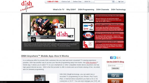 DISH TV Blog: A Taste of DISH Network