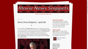 Permalink to Movie News Snippets post image